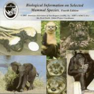 Biological Information on Selected Mammals 4th Edition
