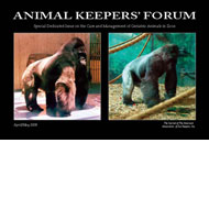 Special Issue of Animal Keepers' Forum Dedicated to The Care and Management of Geriatric Animals in Zoos